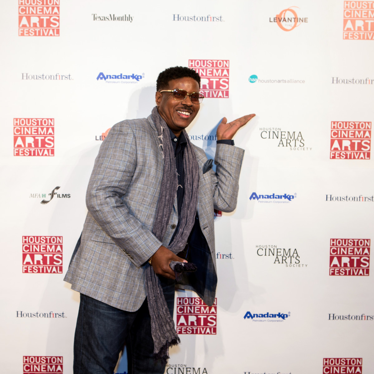 "Houston, Cinema Arts Fest opening night, November 2015, Christopher ""Play"" Martin"