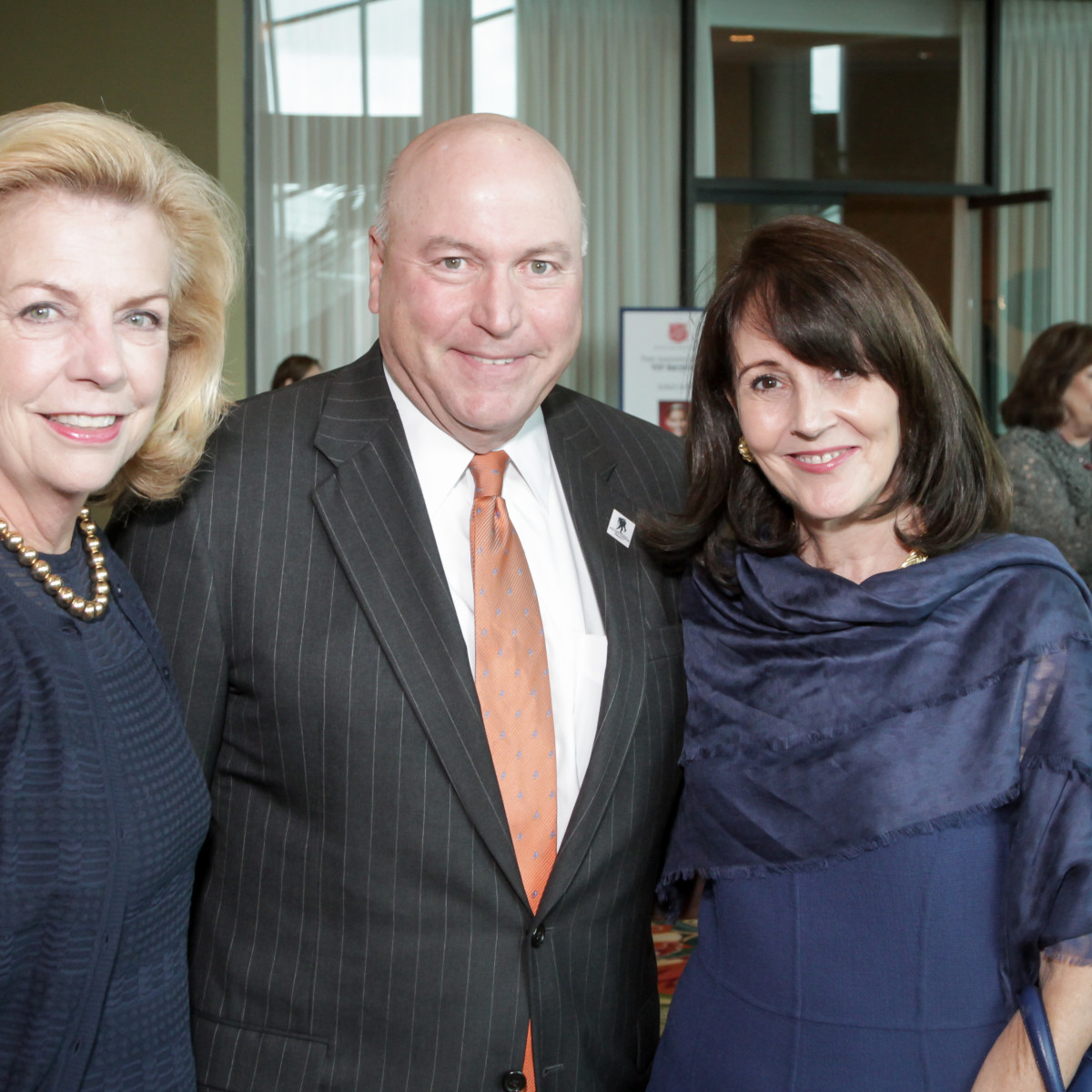 News, Shelby, Salvation Army luncheon, Nov. 2015, Elyse Joseph, James Madget, Jenny Elkins