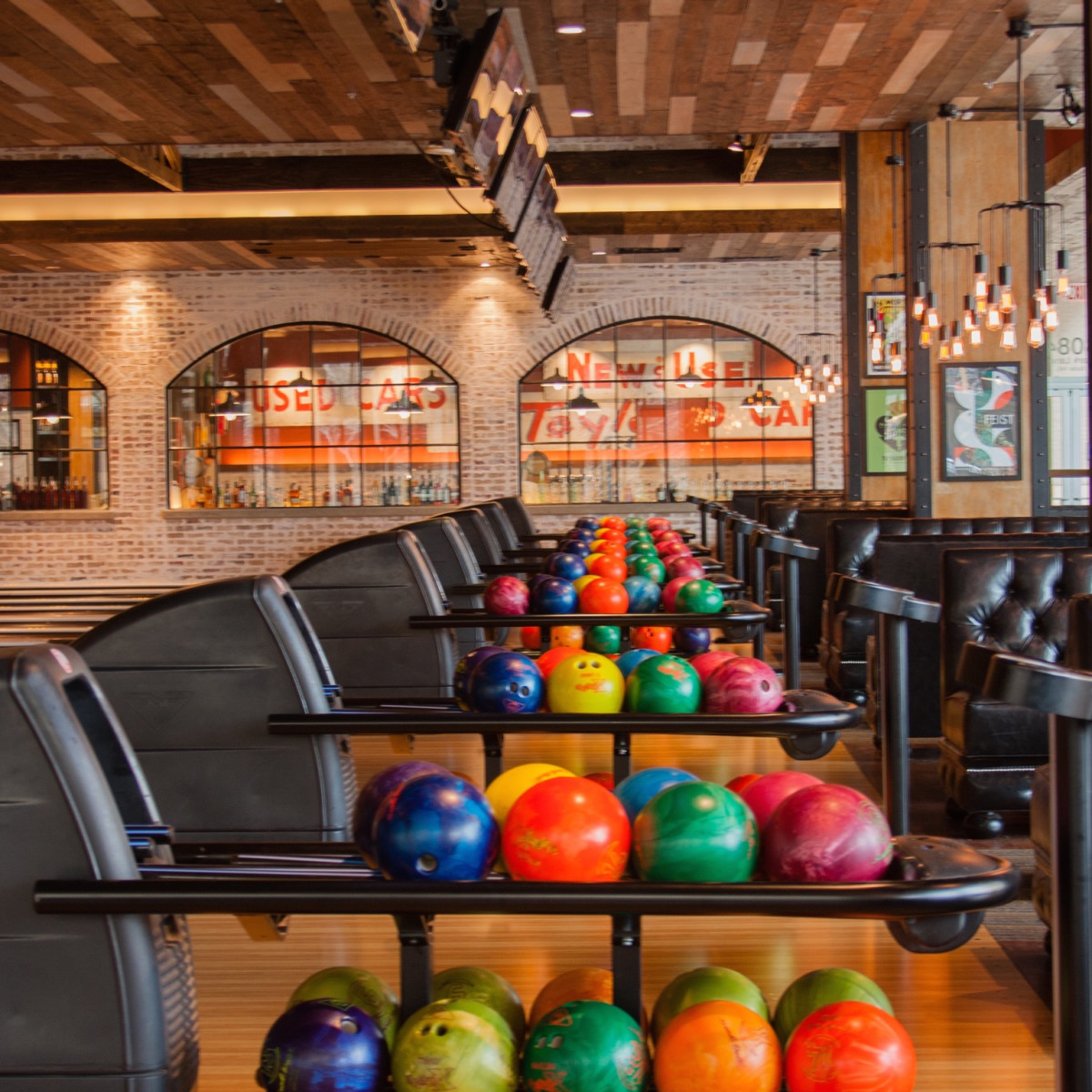 Bowl & Barrel interior