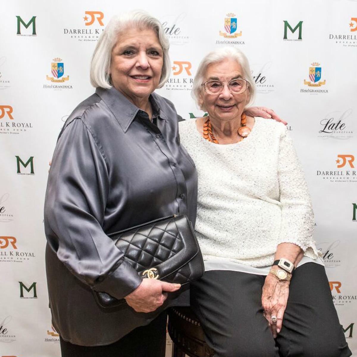 Edith Royal Senator Judith Zaffirini 90th birthday