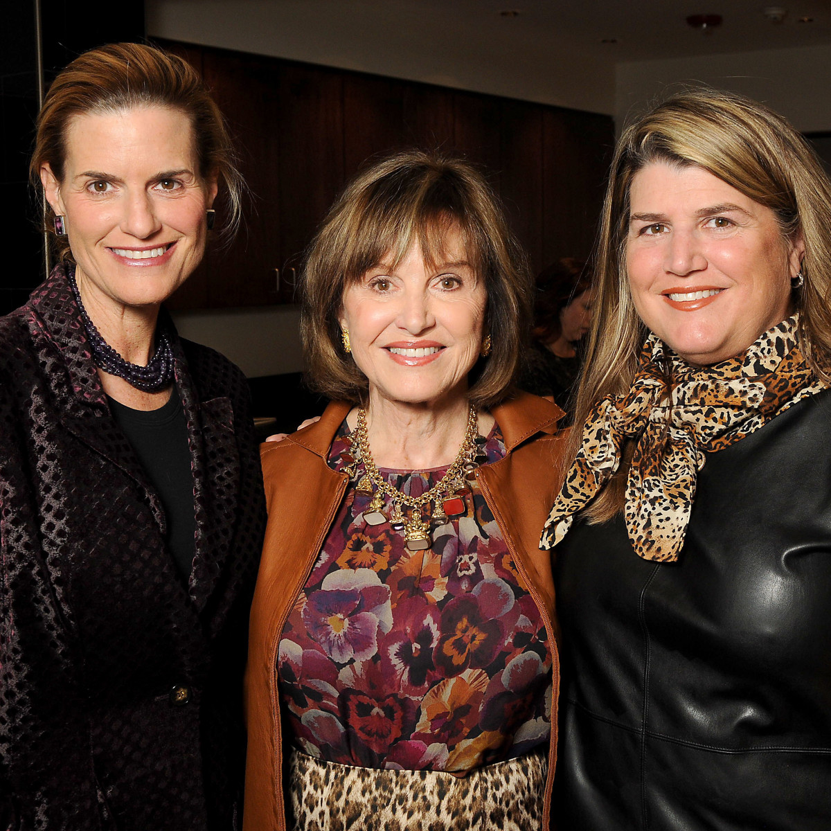 HGO Ladies Lunch Emily VanHouten, Donna Josey Chapman and Donna Kurka