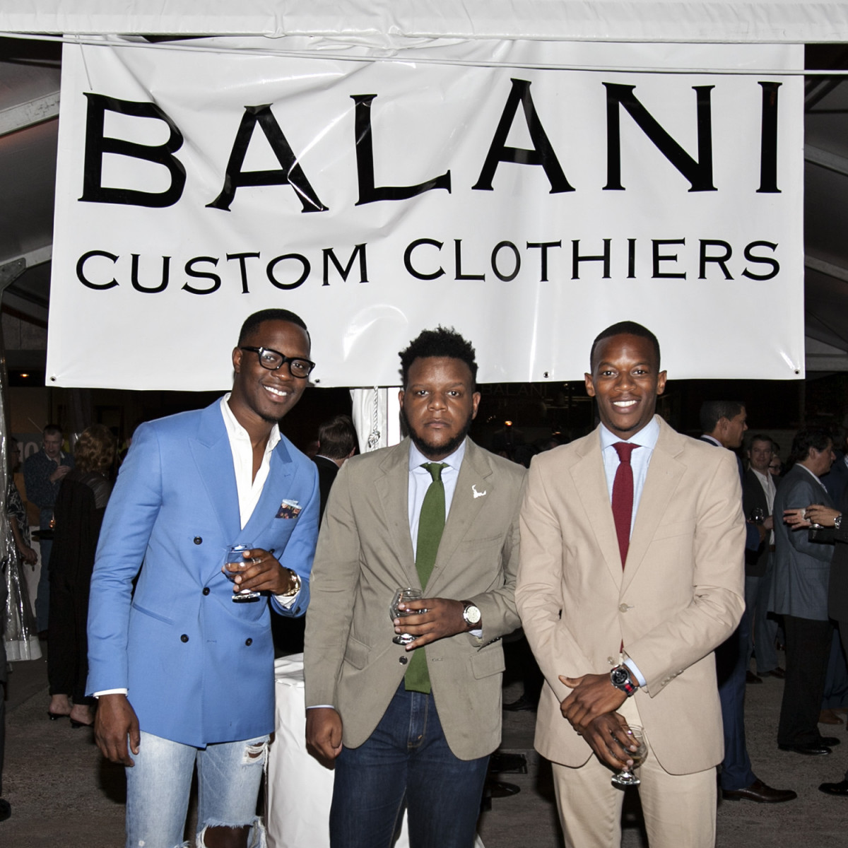News, Shelby, Balani Opening, Nov. 2015, Phillip Adesulu, Samuel Thompson, David Rochez