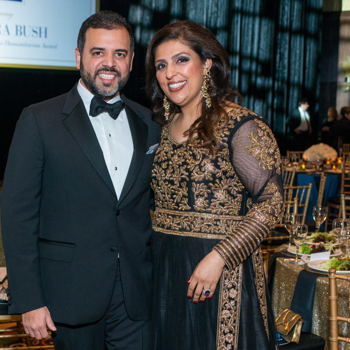 News, Shelby, UNICEF gala, Nov. 2015, Perhsant Mehta, Nidhika Mehtqa