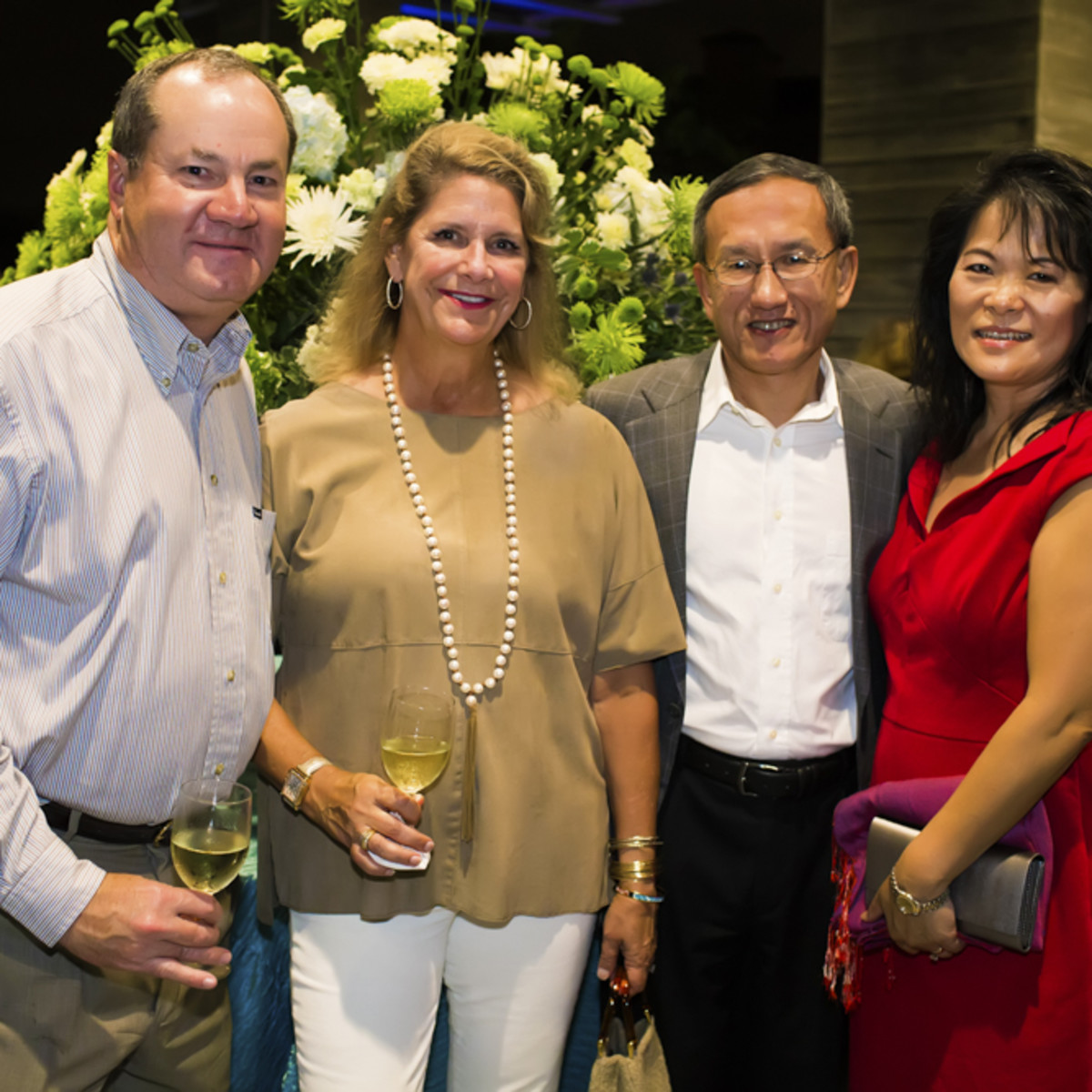 News, Shelby, Buffalo Bayou Partnership gala, Nov. 2015, Jeff Hines, Wendy Hines, Leo Chen, Jennifer Chen