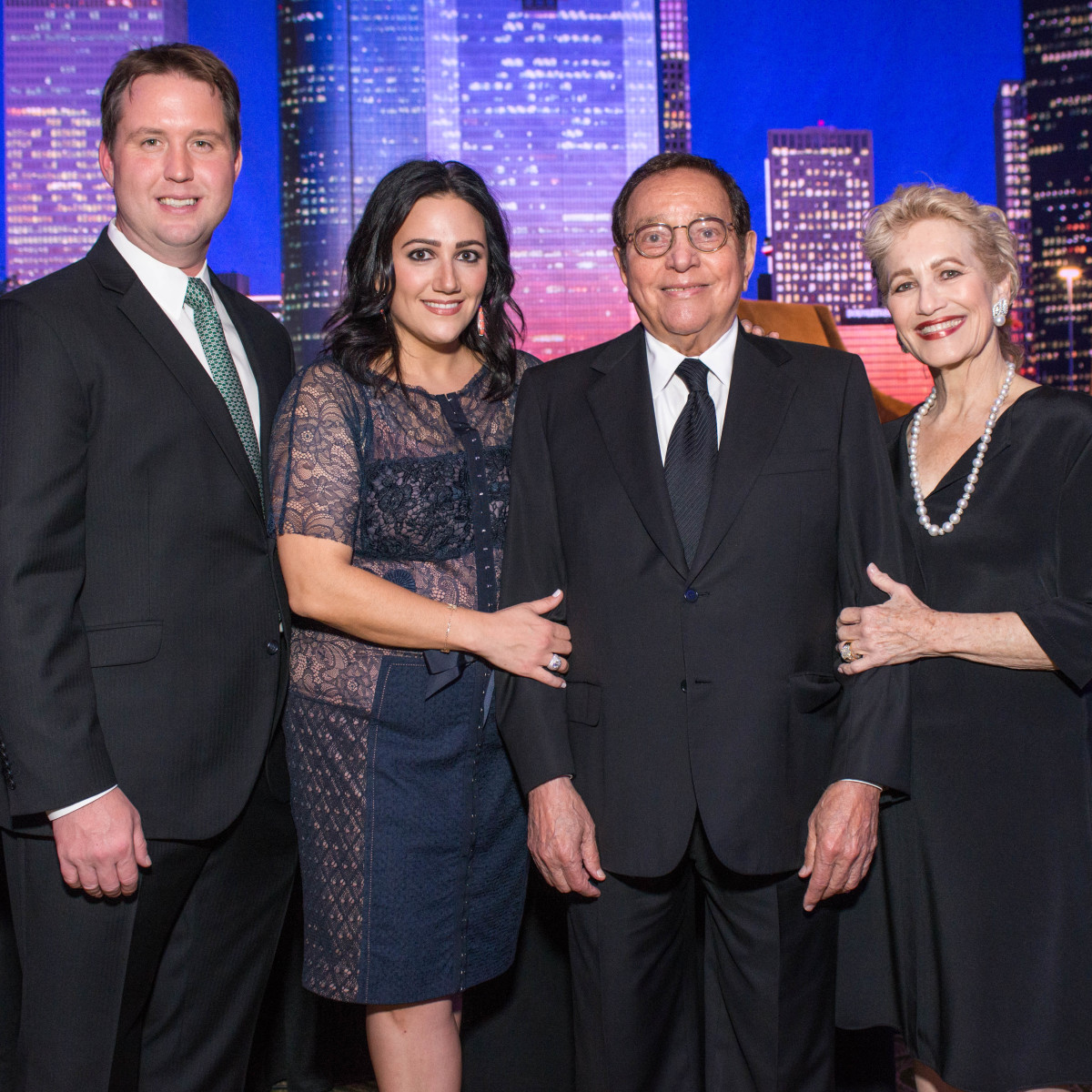 News, Shelby, MD Anderson Living Legend, Nov. 2015, Todd Forester, Kelli Kickerillo, Vincent Kickerillo, Mary Kickerillo