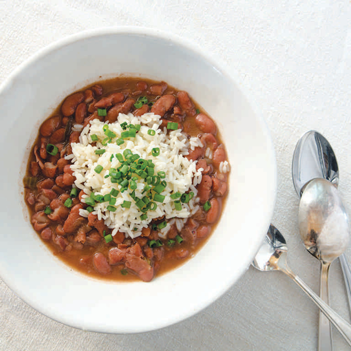 John Besh Big Easy red beans and rice