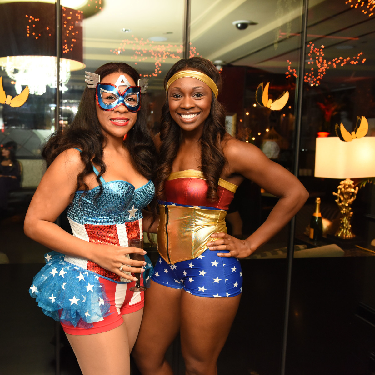 News, Shelby, Hotel ZaZa Halloween, Oct. 2015 Emily Sands, Danielle Fountaine