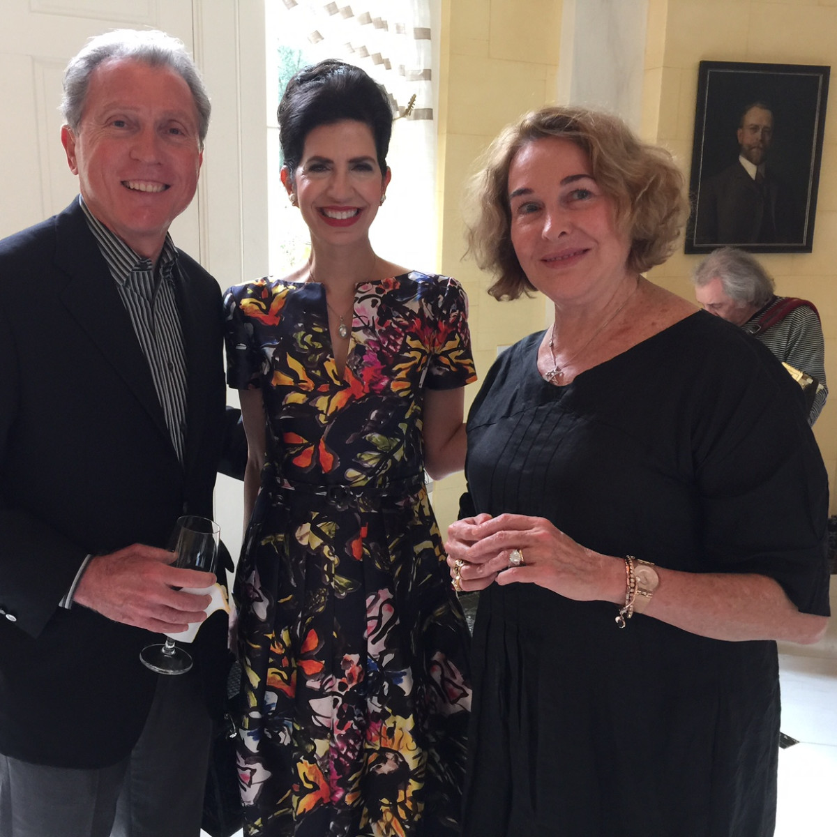 News, Shelby, Barbara Hines lunch on Venice, Oct. 2015, Martin Fein, Kelli Cohen Fein, Barbara Hines