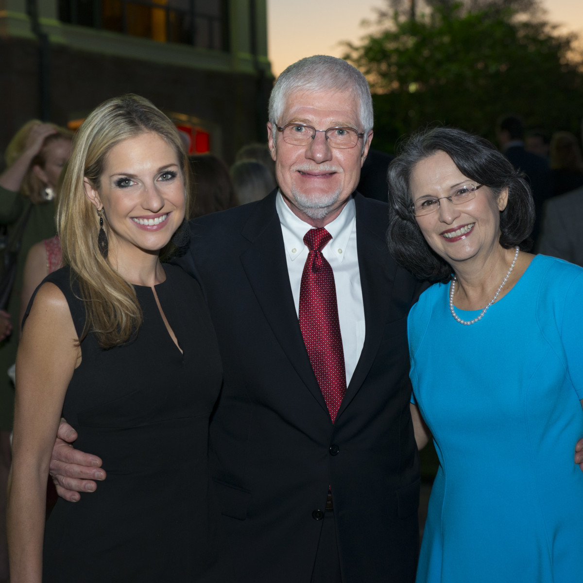 News, Shelby, Scenic Houston dinner, Oct. 3015, Katherine Whaley and her parents