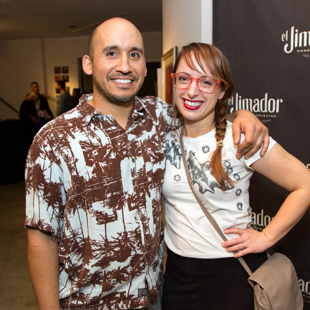 Houston, CultureMap Day of the Dead party, October 2015, : Daniel Adame, Shanon Adams