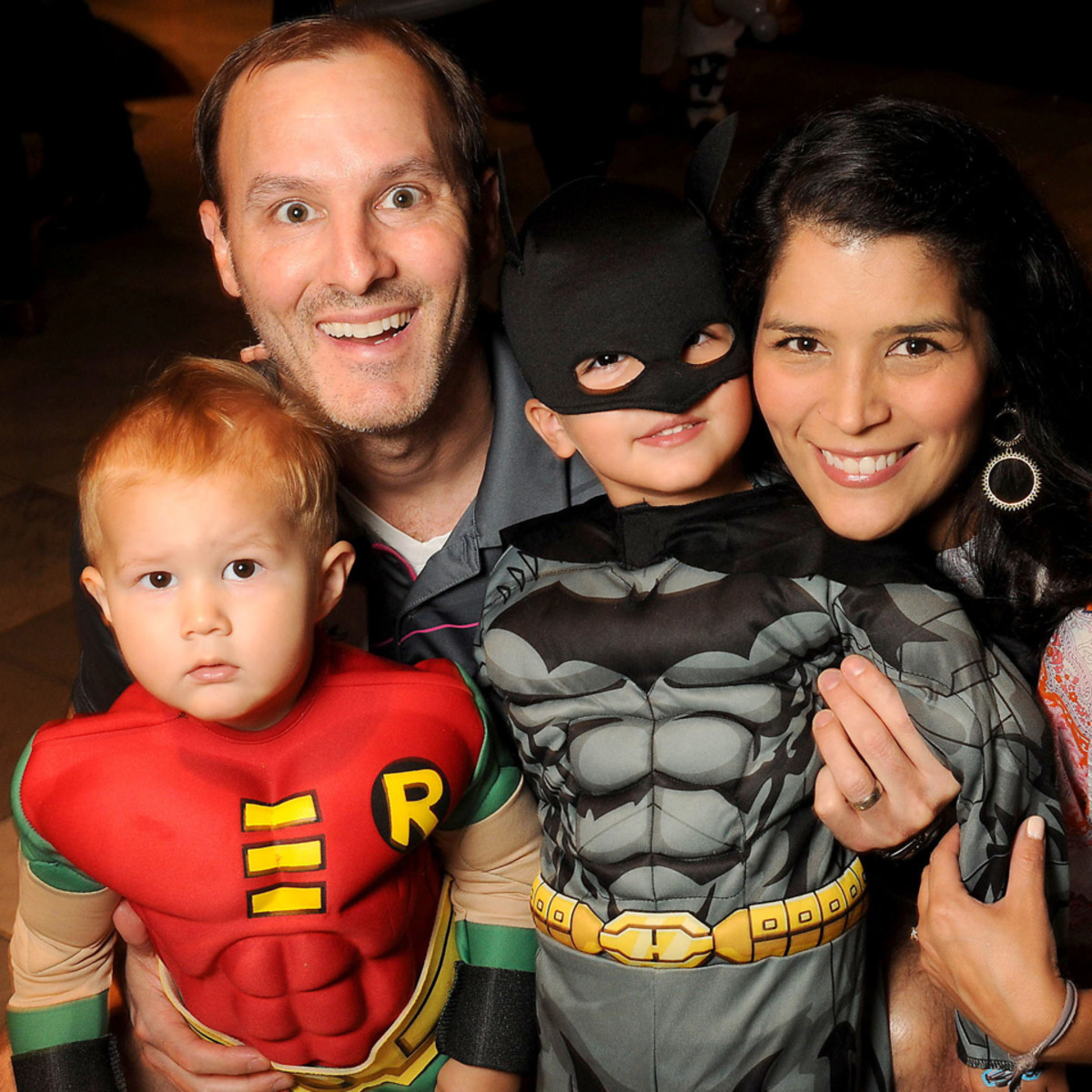 MD Anderson Halloween at the Galleria Ethan, Scott, Eli and Monica Rose