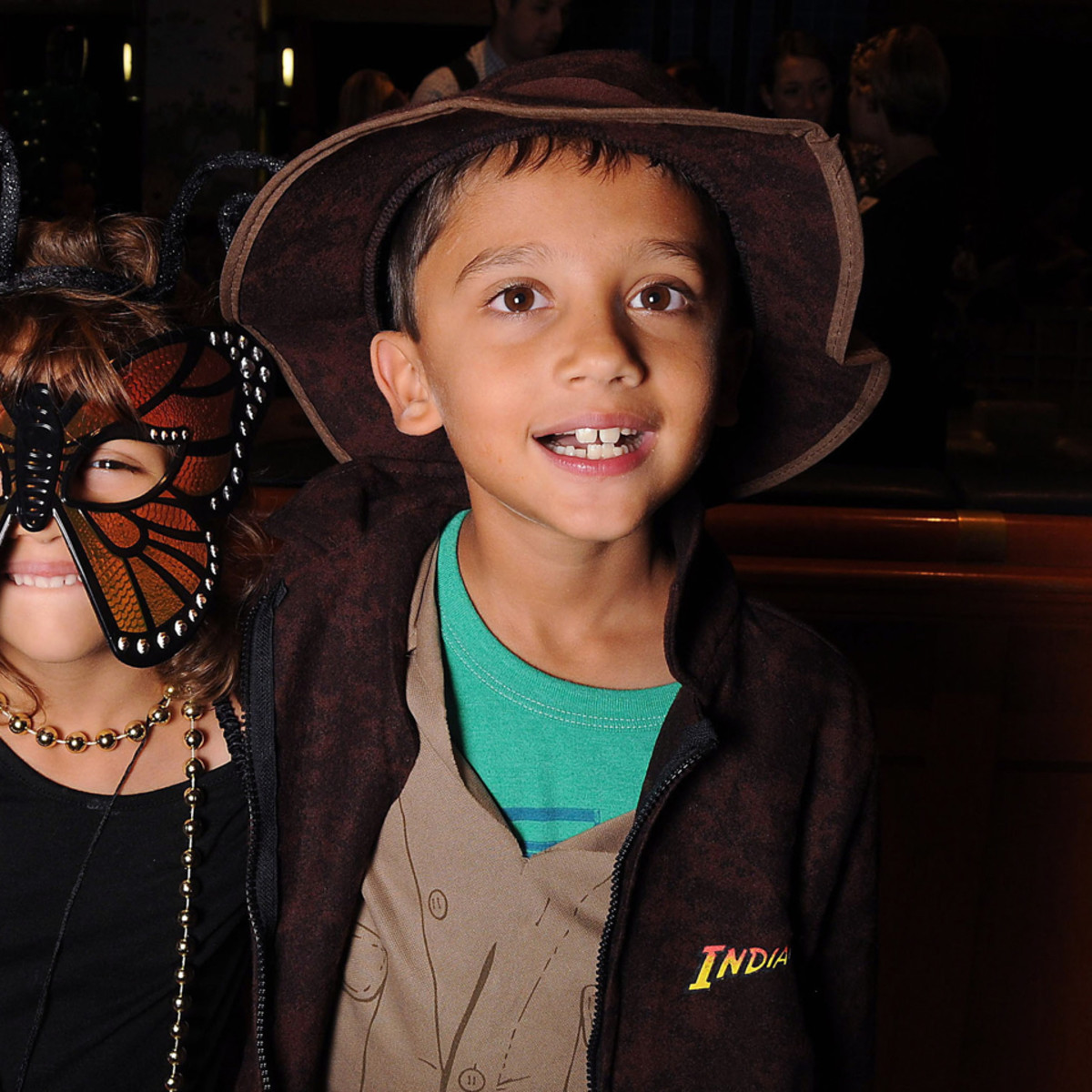 MD Anderson Halloween at the Galleria Audrey and Ethan Praigoody