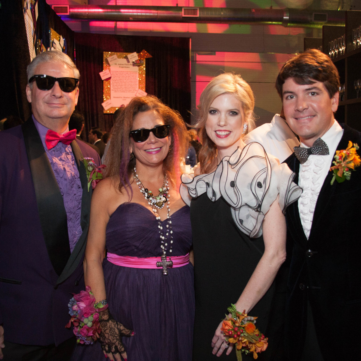 News, Shelby, Children's Museum gala, Oct. 2015 Carmen and Butch Mach, Courtney and Courtney Toomey,