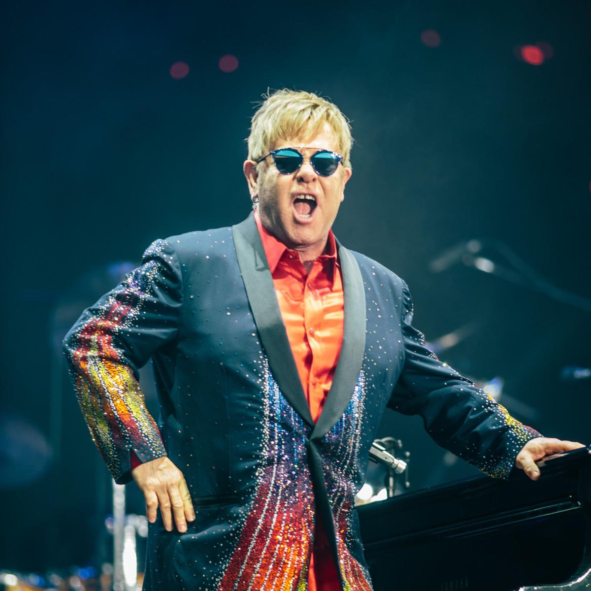 Elton John at Circuit of the Americas F1 Weekend