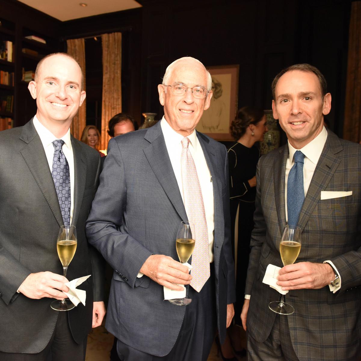 News, Shelby, Departures/Chopard dinner, Oct. 2015, Brian Ritter, Dr. John Mendelsohn, Steven Deluca