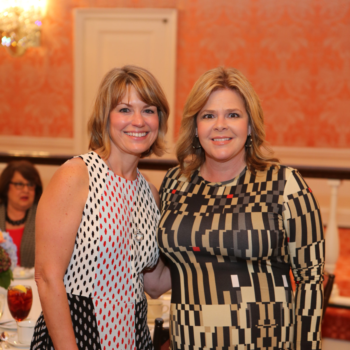 News, Shelby, Houston Museum of Natural Science Luncheon, Oct. 2015, Kelley Lubanko and Kelli Weinzierl