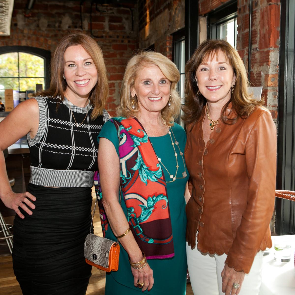 News, Shelby, Catwalk for a Cure kickoff, Oct. 2015, Allison Flikerski, Denise Monteleone, Elizabeth Stein