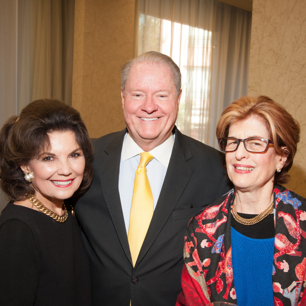 News, Shelby, Women's Fund luncheon, Oct. 2015, Linda McReynolds, John Pitts, Lynn Cutrer