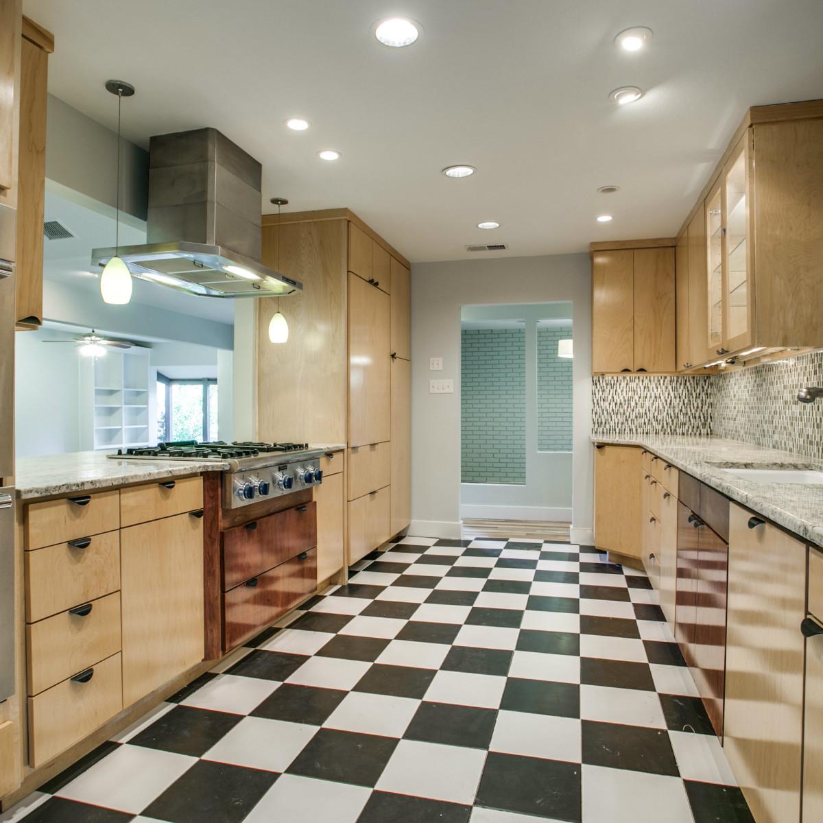 Kitchen at 3820 Shorecrest Dr. in Dallas