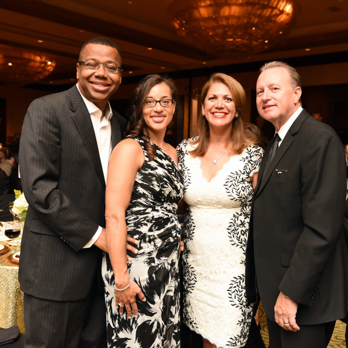 Houston, SER job for progress, October 2015, Nicole and Sherman Lewis, John and Frances Dyess