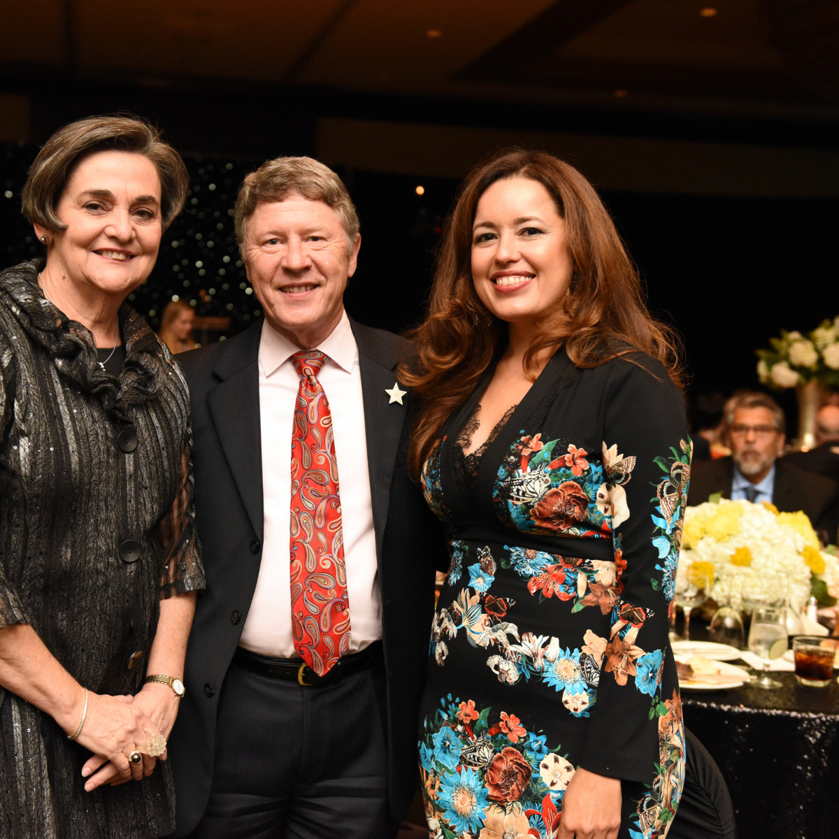 Houston, SER job for progress, October 2015, Gwen Emmett, Judge Ed Emmett and Nory Angel.