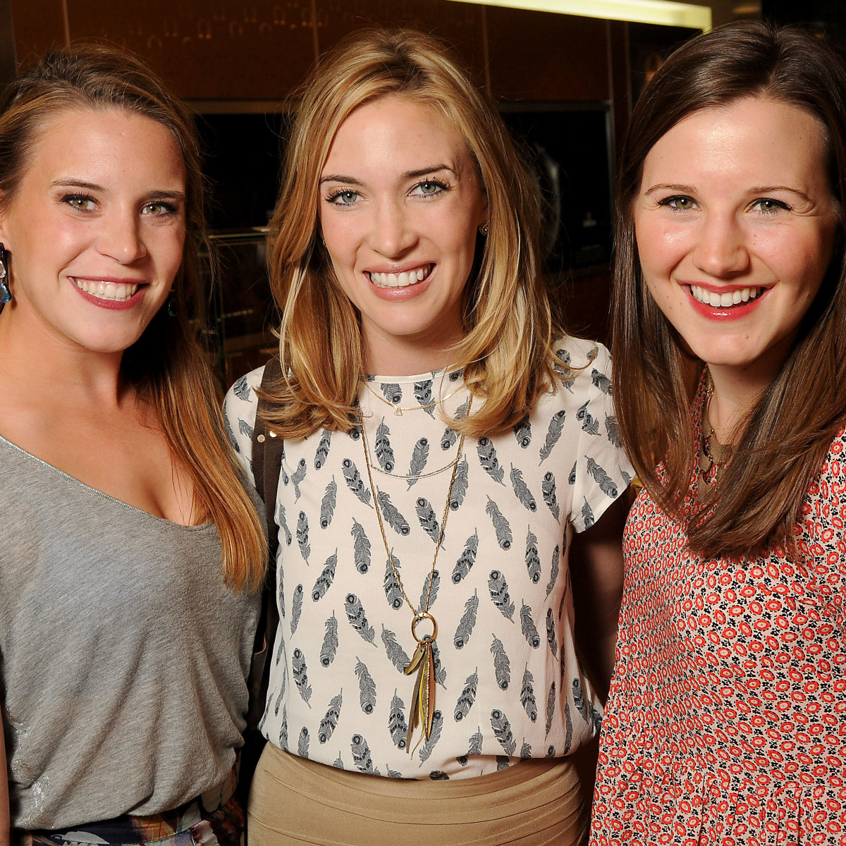 Houston, Project 88 kick-off party, October 2015, Caroline Suffield, Elizabeth Wilhite and Margaret Gibson