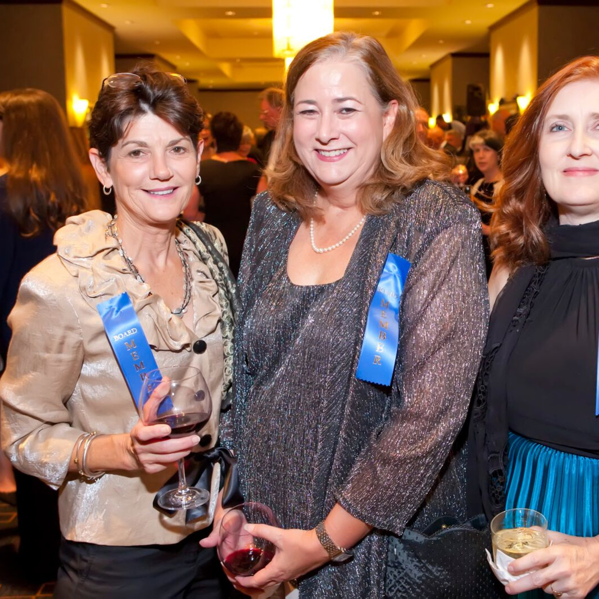 Michele Pola, Susan Kennedy, Michele Mullin at Planned Parenthood Gala