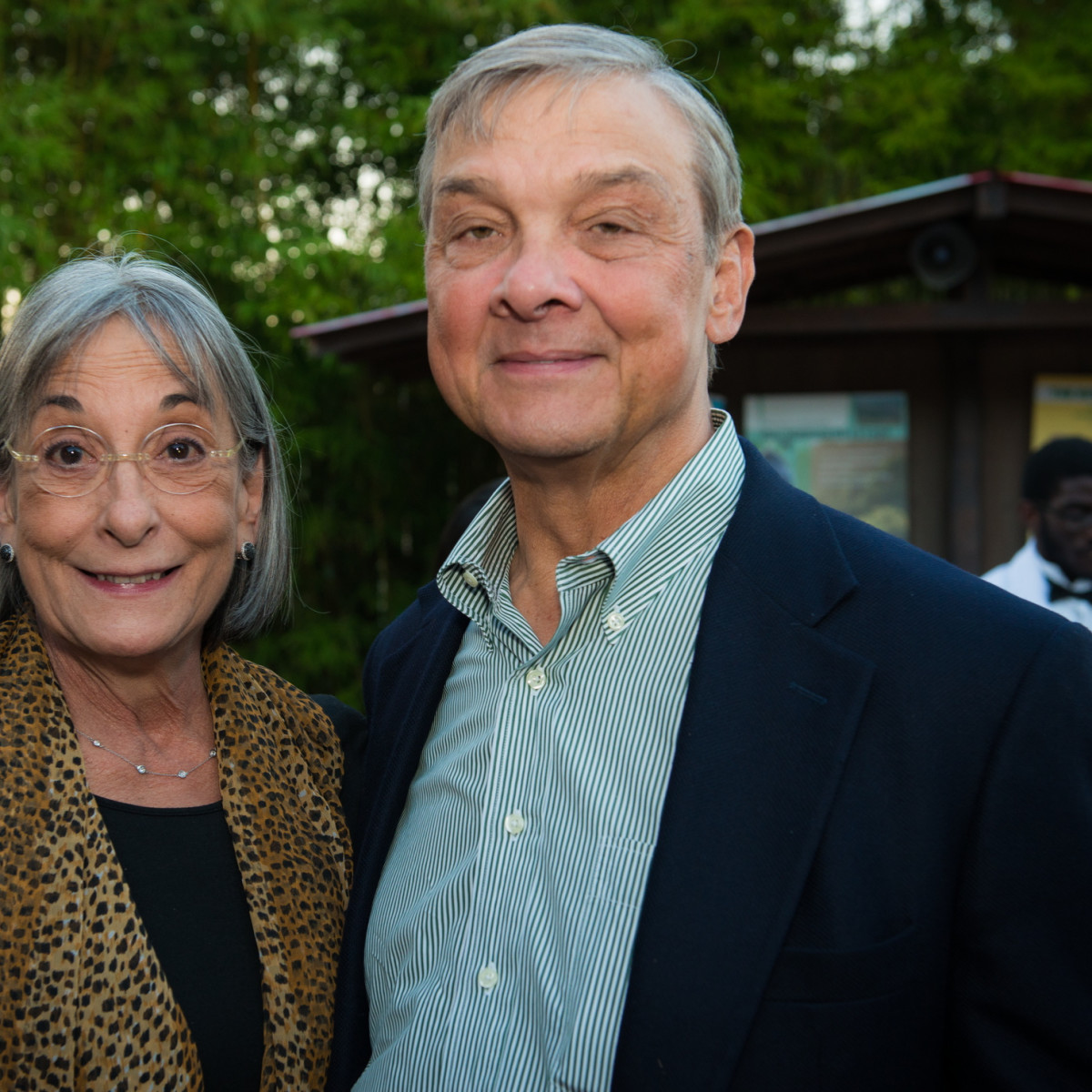 Houston Zoo Conservation Gala 2015 Annie Graham, Bob Graham