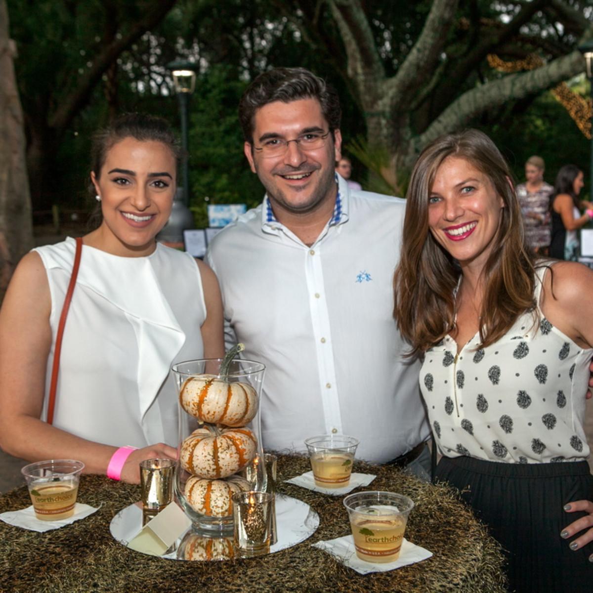 Houston Zoo YP Popi Stylianou, Niko Anagnostopoulos, Renee Anagnostopoulos