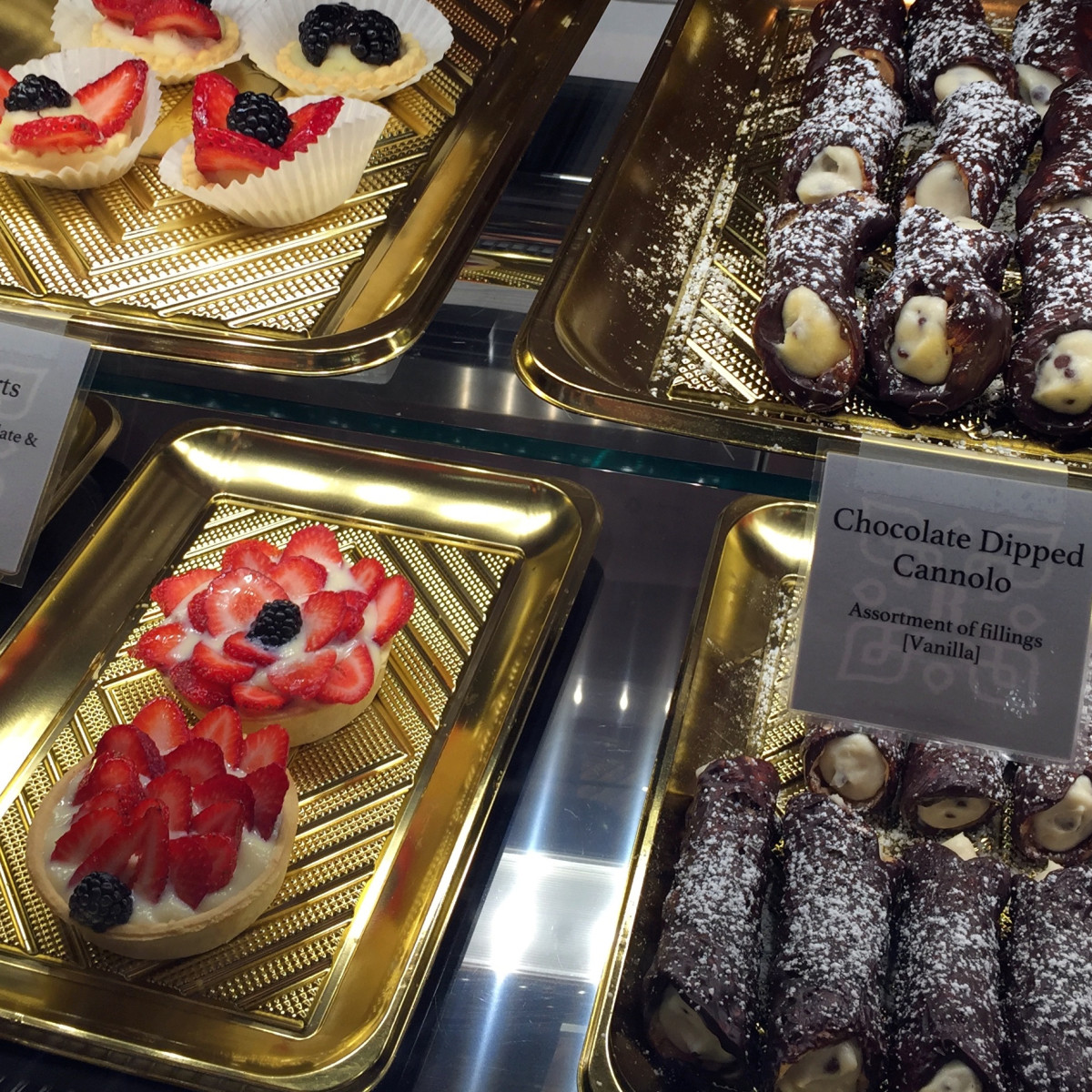 Houston, MFACafe, October 2015, pastry case