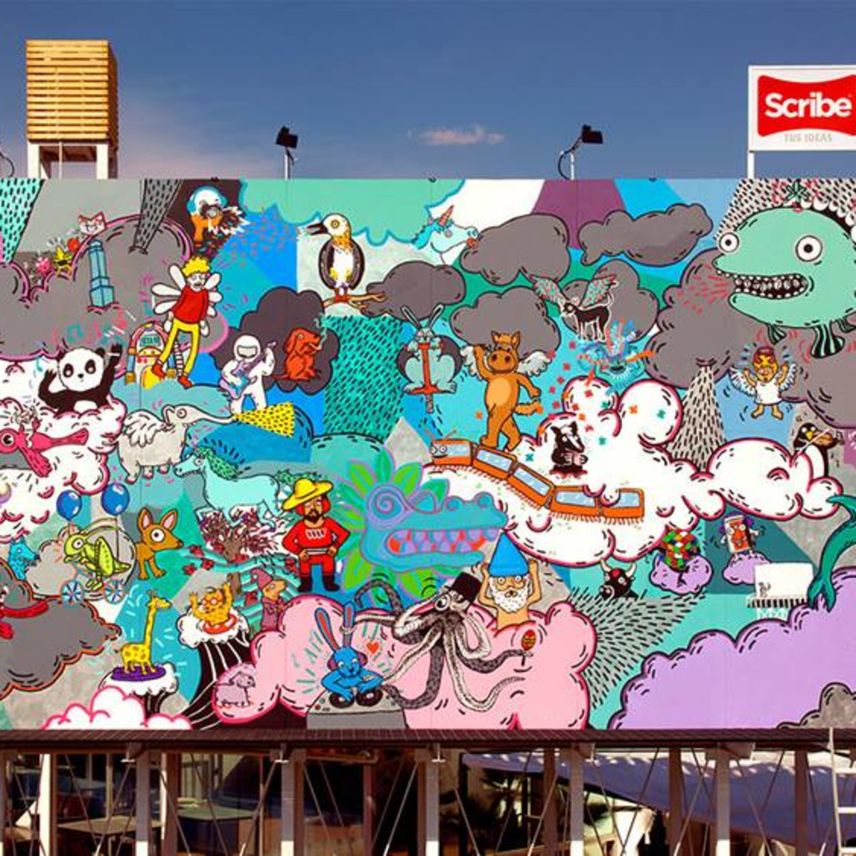 Cecilia Beaven HUE Mural Festival