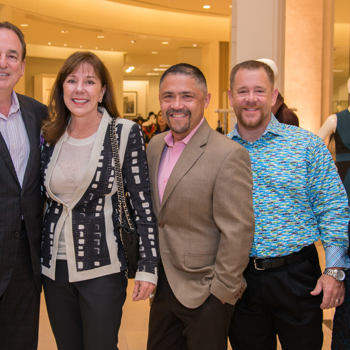News, Shelby, Women of Distinction announcement, Oct. 2015, Alan Stein, elizabeth Stein, Shelby Kibodeaux, Bruce Padilla