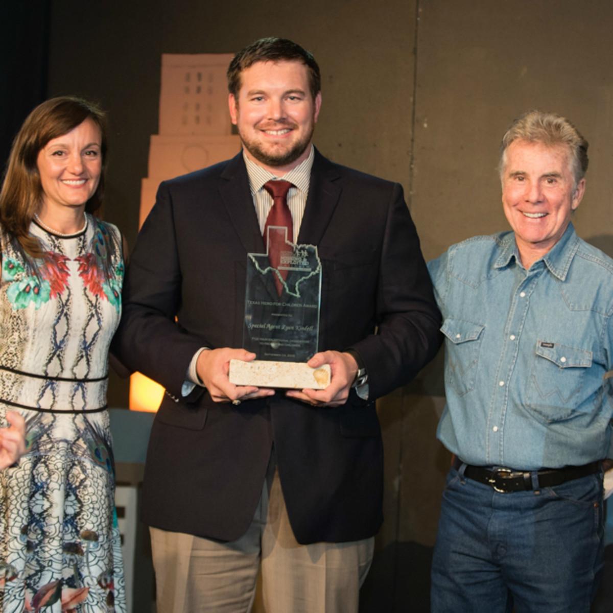 NCMEC Texas Heroes for Children Gala 2015 Andrea Sparks Christopher Ryan Kindell John Walsh