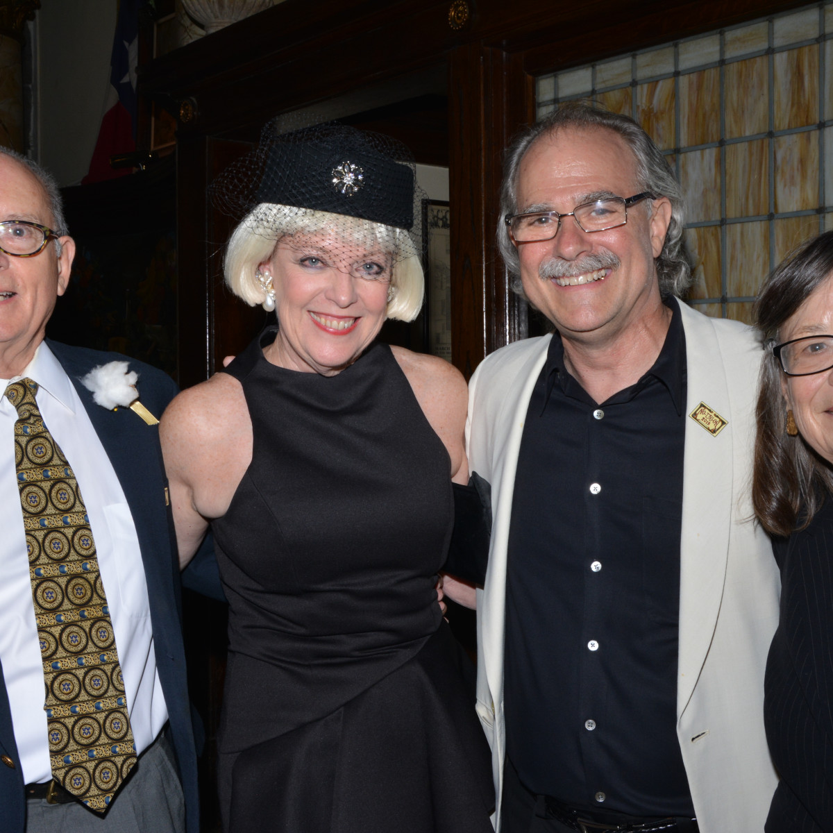 Houston, No-Tsu-Oh gala, September 2015, Bob Pando, Terri DiRaddo, Andy DiRaddo and Trilla Pando