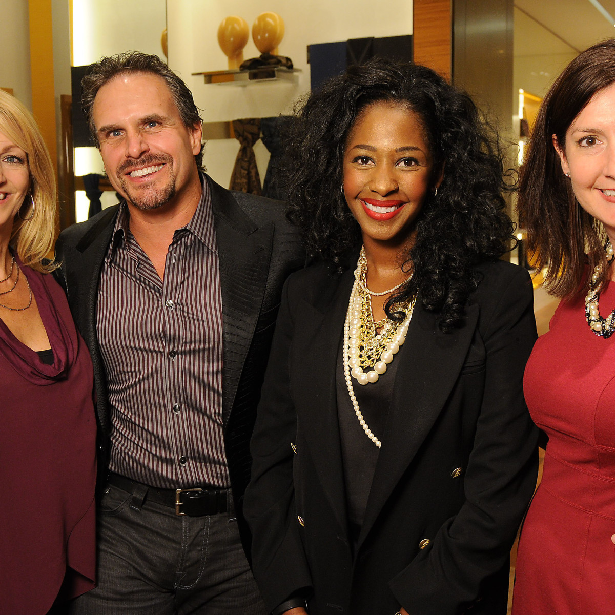 Houston, Louis Vuitton Alley Theatre Salute, September 2015, C.C. Ensell, Duke Ensell, Tanara Landor and Kathryn Straw