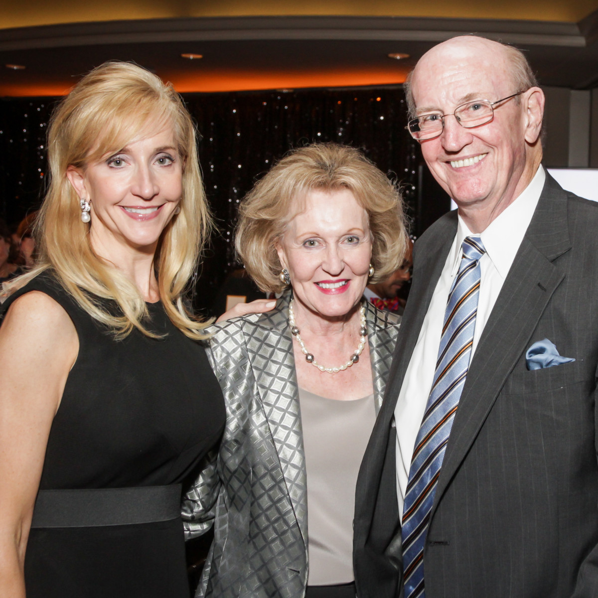 Hearts of Gold Gala Patricia Dewhurst, Carolyn and Dr. Carlos Hamilton