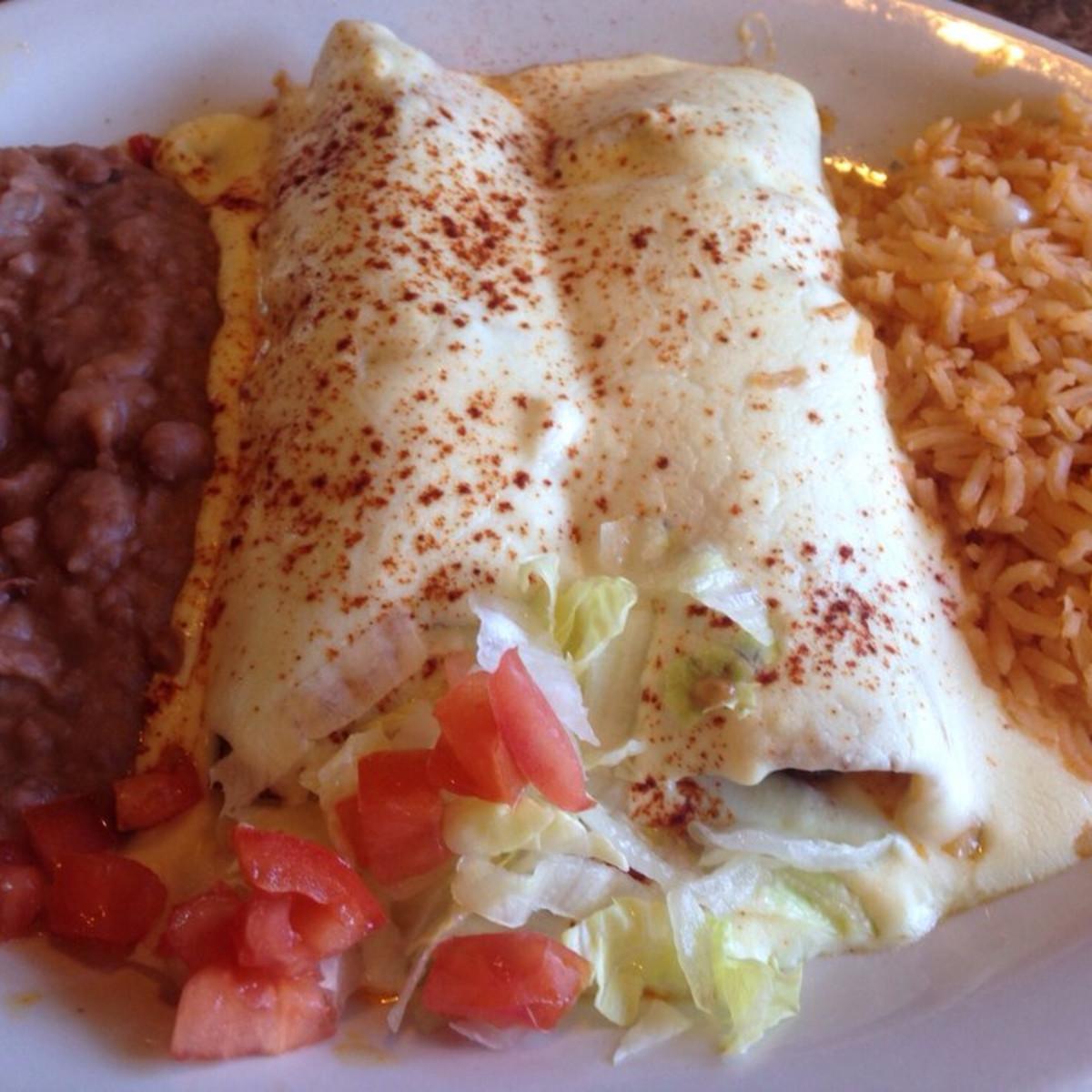 Pulido's enchiladas