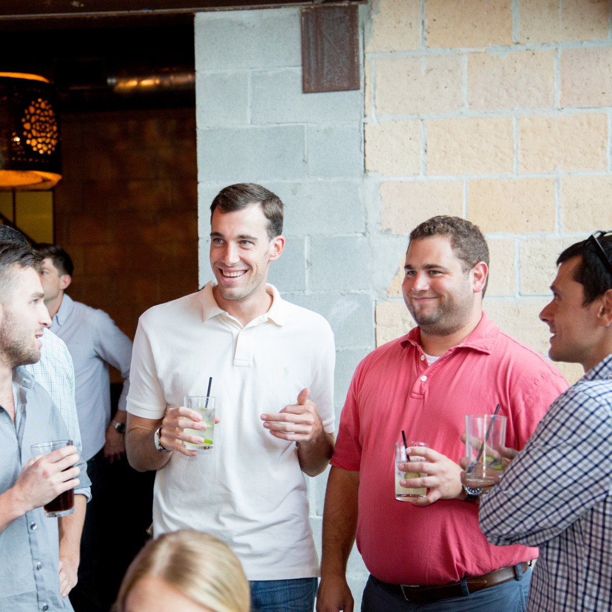 Houston, Casa de Esperanza YP Happy Hour, September 2015, Patrick Hawkey, Toff Fineman, Devin Magnussen, Kamen Kanev.