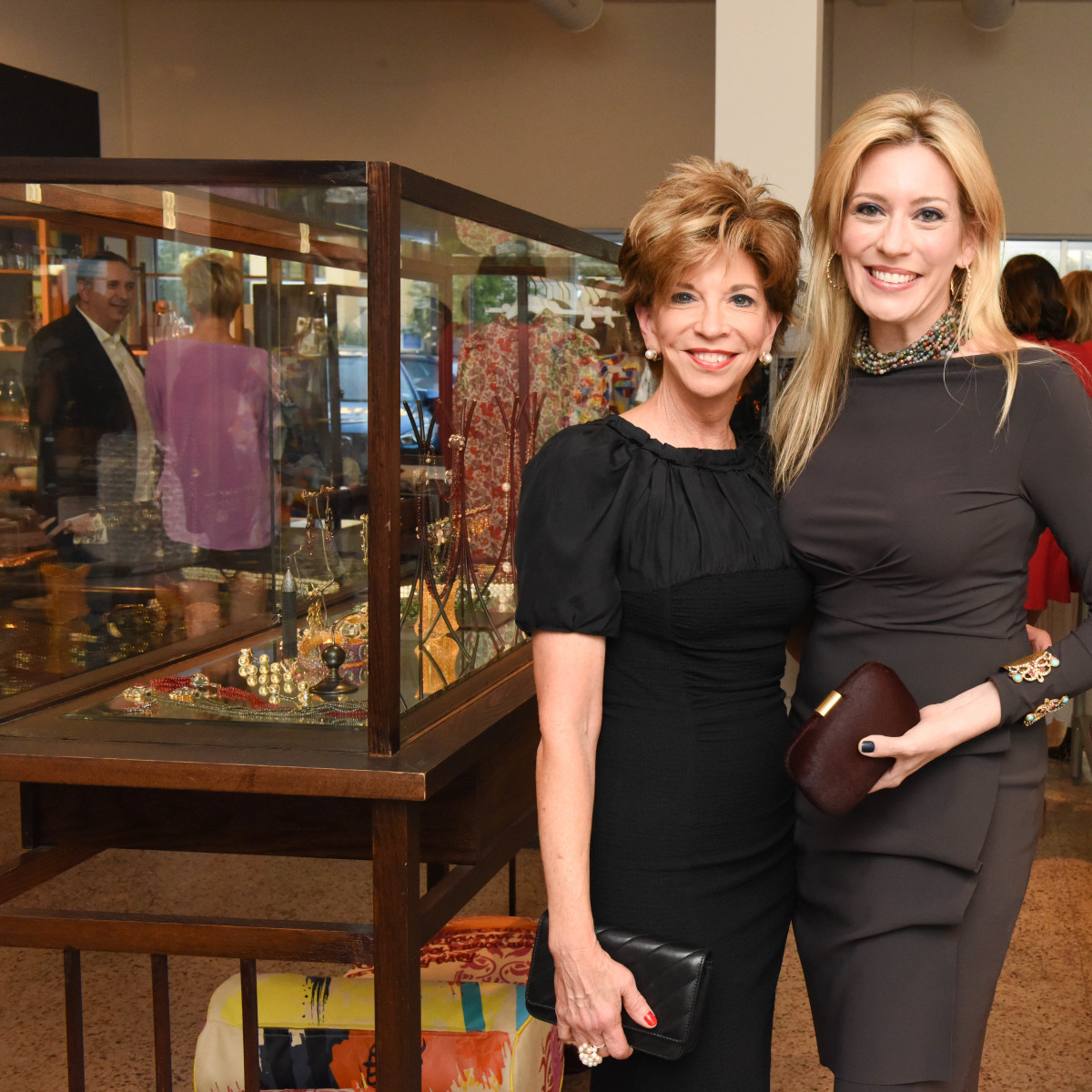 Vicki Rizzo and Mauri Oliver at Recipe for Success Dress for Dinner event with Lucy Sykes