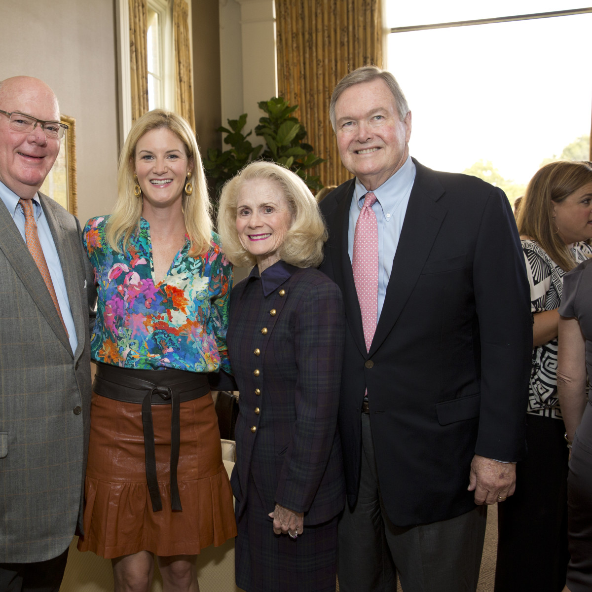 News, Shelby, Small Steps luncheon, Sept. 2015, Bob Speed, Allison Crosswell, Nancy and Harry Burrow