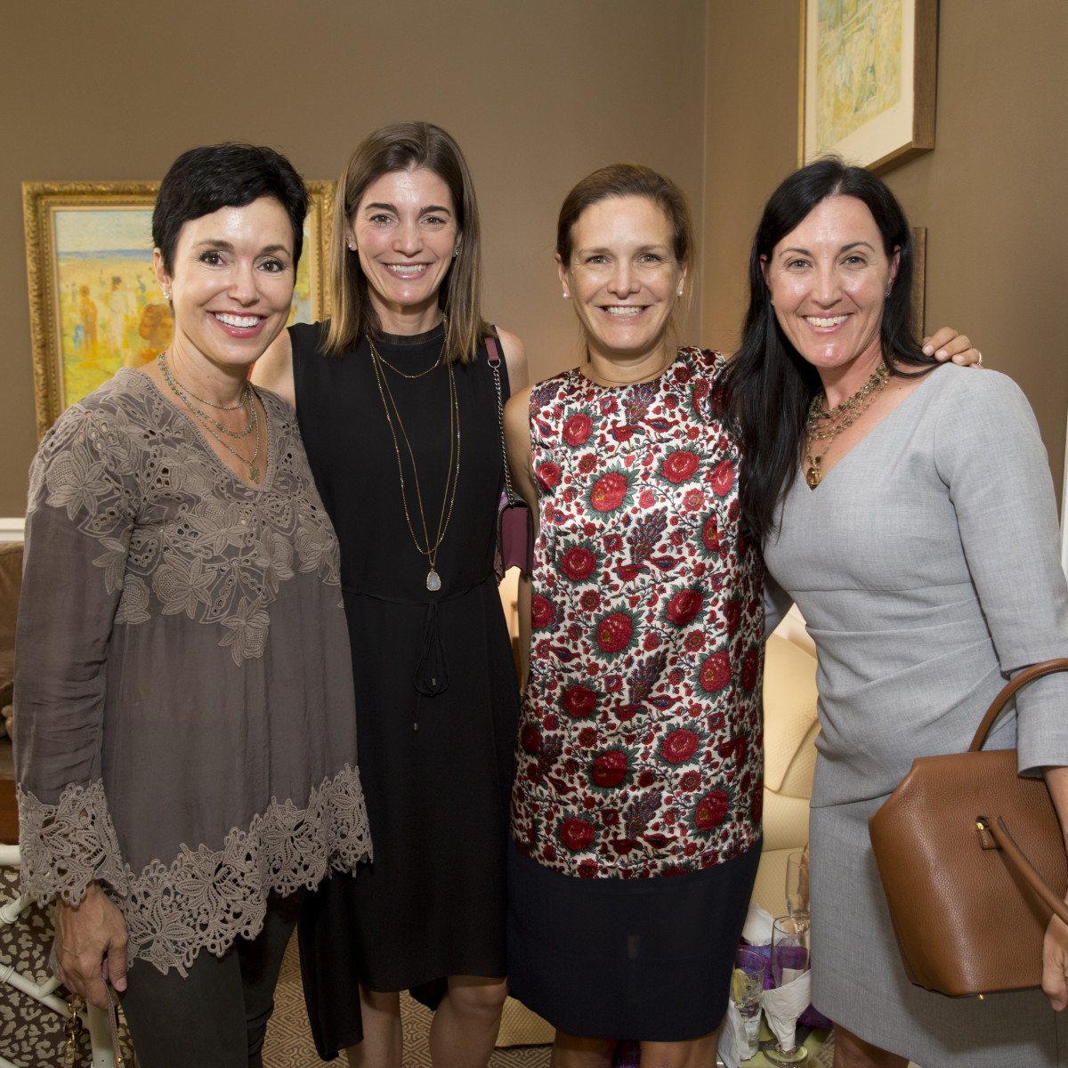 News, Shelby, Small Steps luncheon, Sept. 2015, Gracia Duncan, Liz Stepanian, Cecilia Harris, and Danielle Magdol