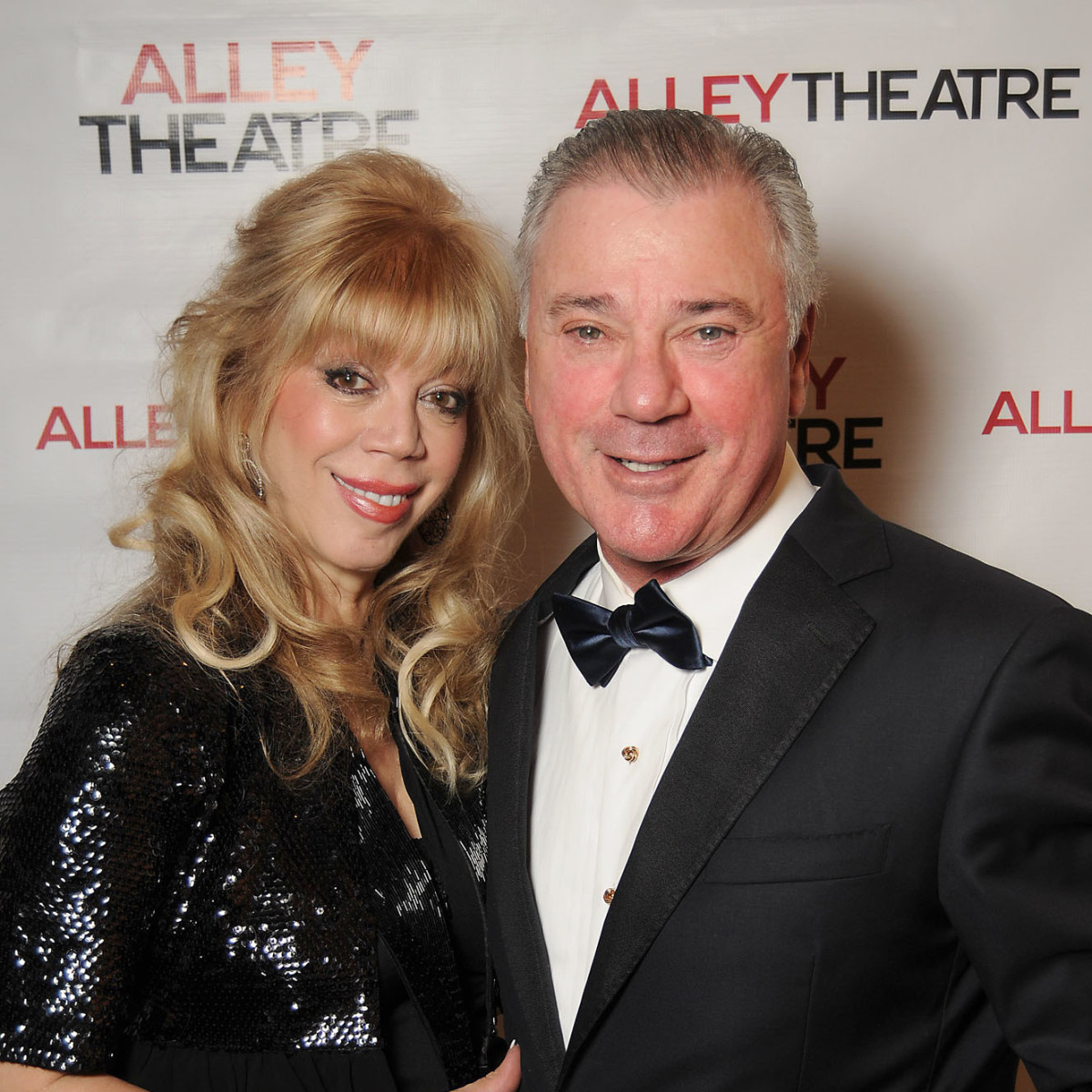 News, Shelby, Alley Theatre opening, September 2015, Cathy and Jessy Marion
