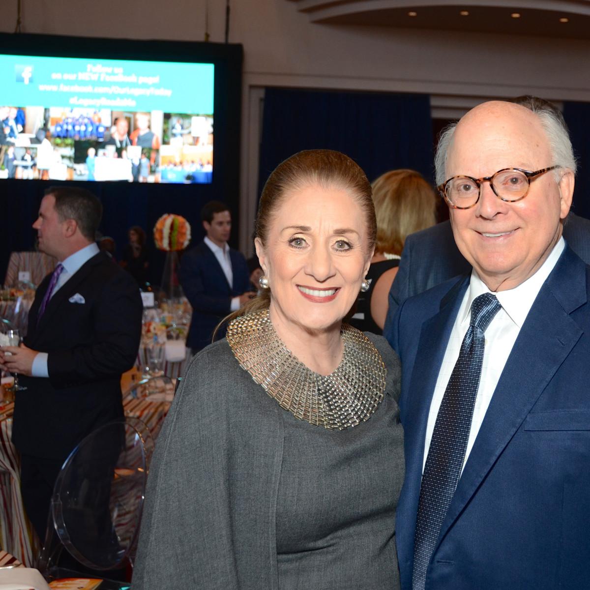 News, shelby, Legacy luncheon, Sept. 2015, Martha Turner, Glenn Bauguss