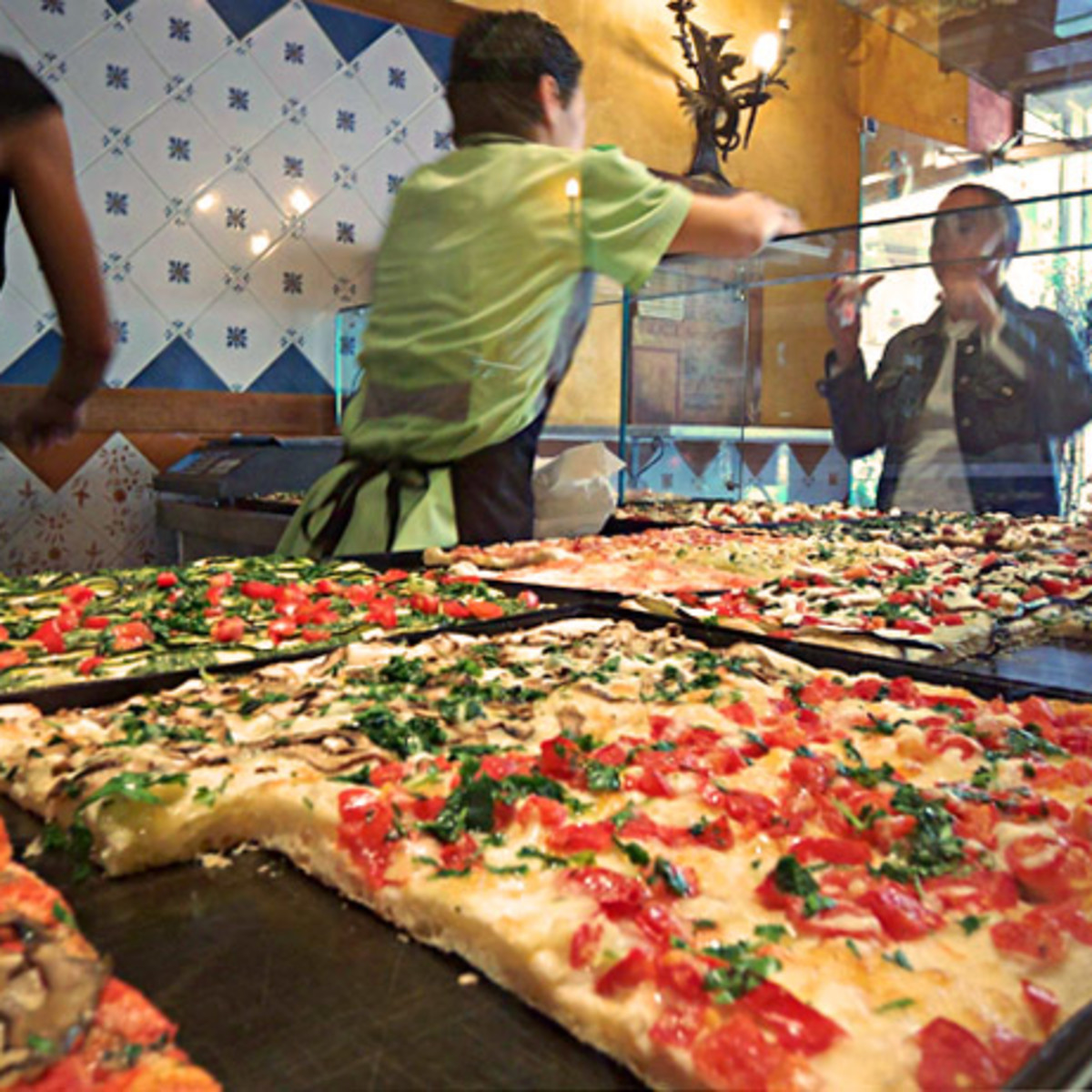 al taglio pizza