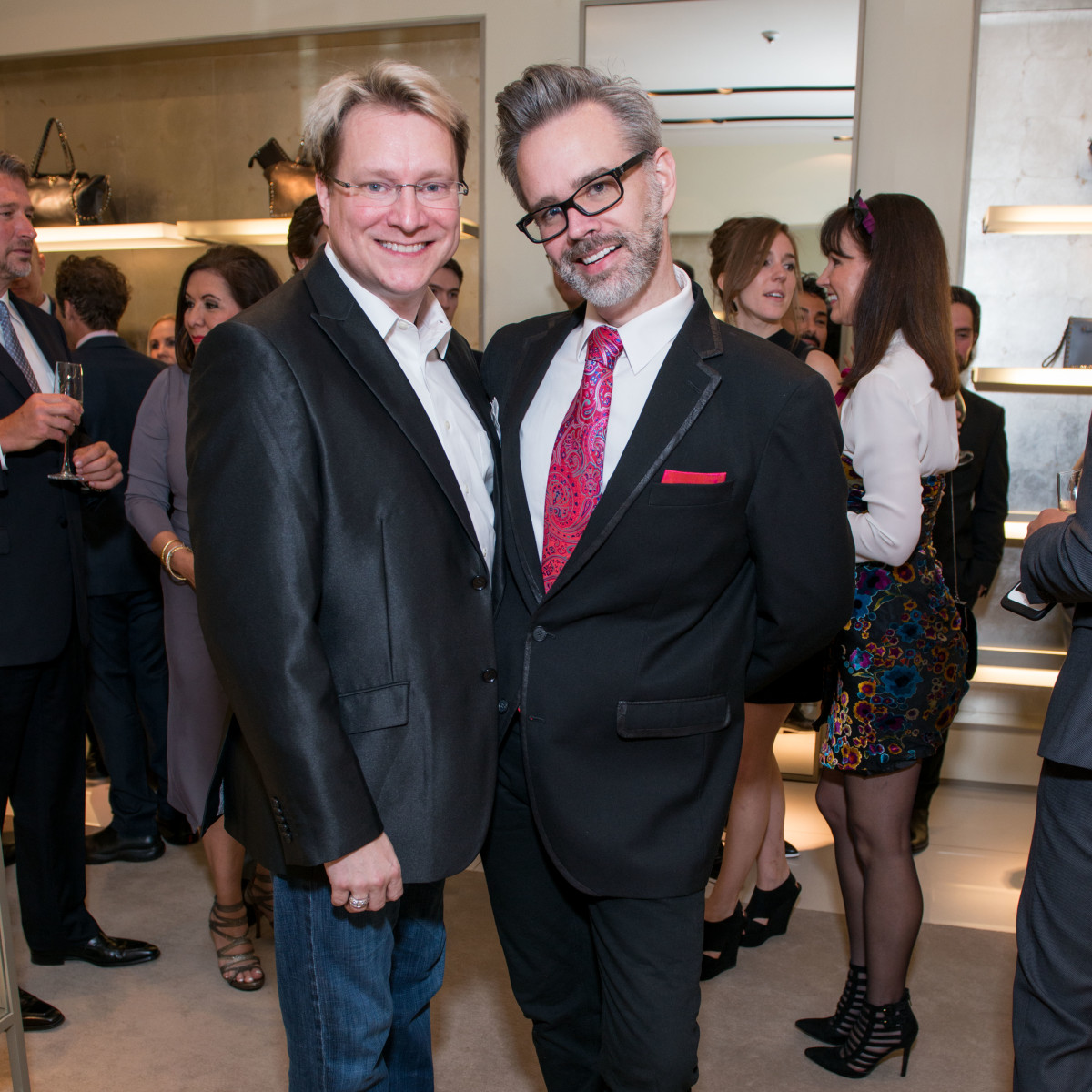 News, Shelby, Heart of Fashion Valentino party, Sept. 2015,Matthew Burrus, Michael Pearce