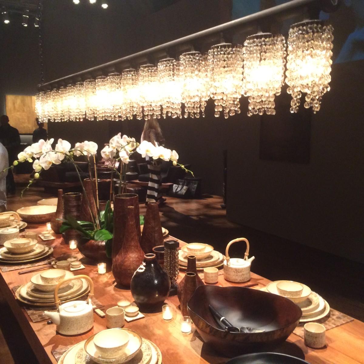 Urban Zen chandelier