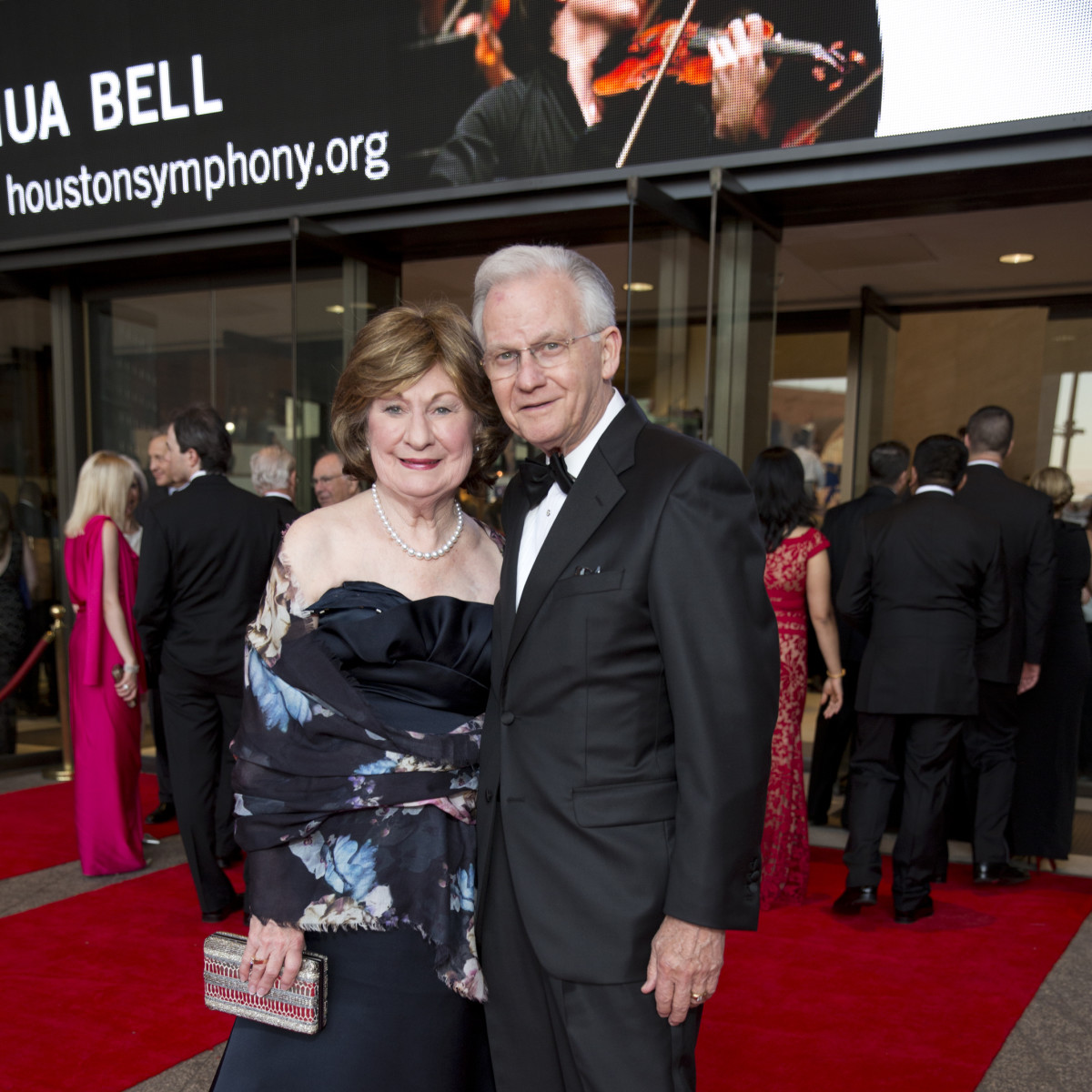 News, Shelby, Houston Symphony Opening Night, Sept. 2015, Cora Sue & Harry Mach