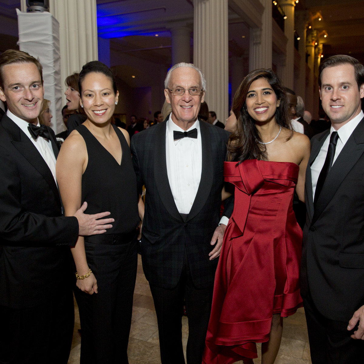News, Shelby, Houston Symphony Opening Night, Sept. 2015, John & Ting Bresnahan, Peter Brown, Divya & Chris Brown