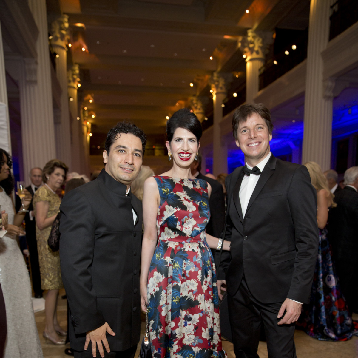 News, Shelby, Houston Symphony Opening Night, Sept. 2015, Andres Orozco-Estrada, Kelli Cohen Fein, Joshua Bell