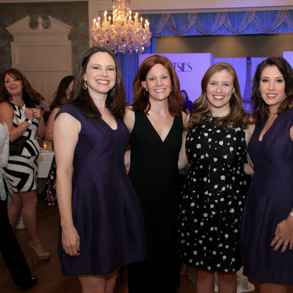 News, Shelby, Junior League Luncheon, Sept. 2015, Anne Elizabeth Sears, Maidie Ryan, Katie Mears, Mimi Fraser